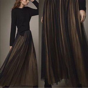 Massimo Dutti Tulle Maxi Skirt 6